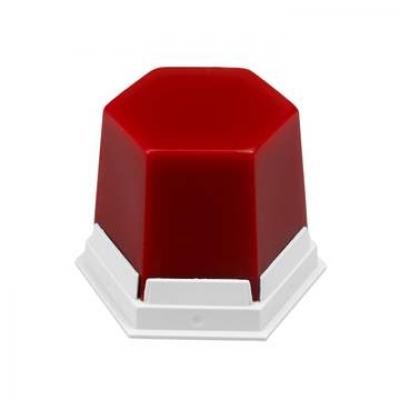 Воск базовый красный прозрачный 75 гр