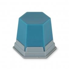 Воск ГЕО для модельного литья прозрачный бирюзовый
