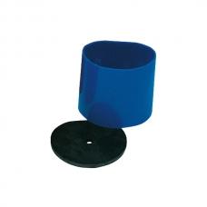Формовка муфельная пластмассовая. большая, синяя.